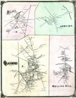 Glassboro, Malaga, Asbury, Mullica Hill, Salem and Gloucester Counties 1876